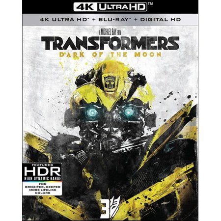 Transformers: Dark Of The Moon (4K Ultra HD + Blu-ray + Digital HD