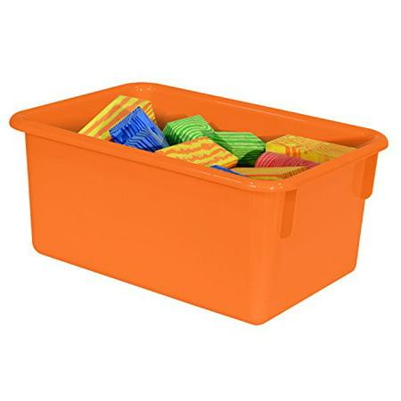 Wood Designs Kids Orange Rectangular Storage Tray (Kids Store Design)