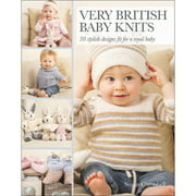 Search Press Books Very British Baby Knits
