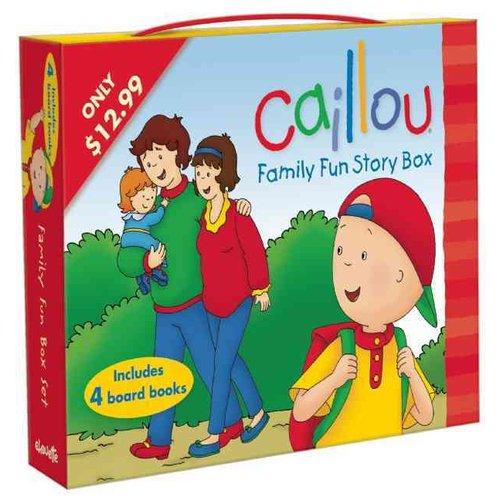Caillou Family Fun Story Box