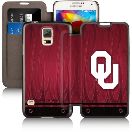 Oklahoma Sooners Samsung Galaxy S5 Wallet Case By