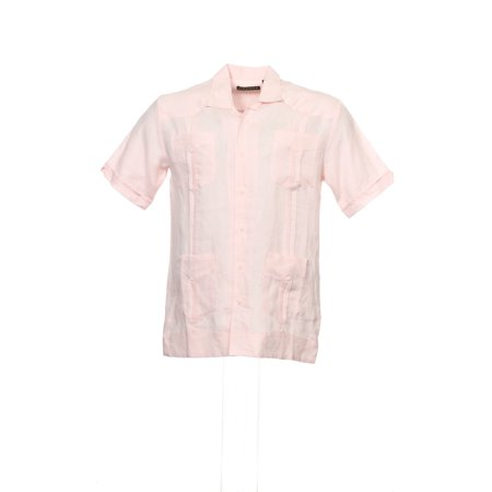 de4778c3db Cubavera - Cubavera Men s Embroidered Guayabera Shirt Camp Shirt (Medium