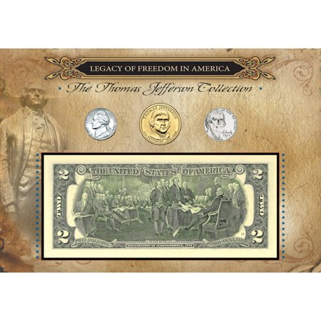 - American Coin Treasures  Legacy of Freedom Thomas Jefferson Coin Collection
