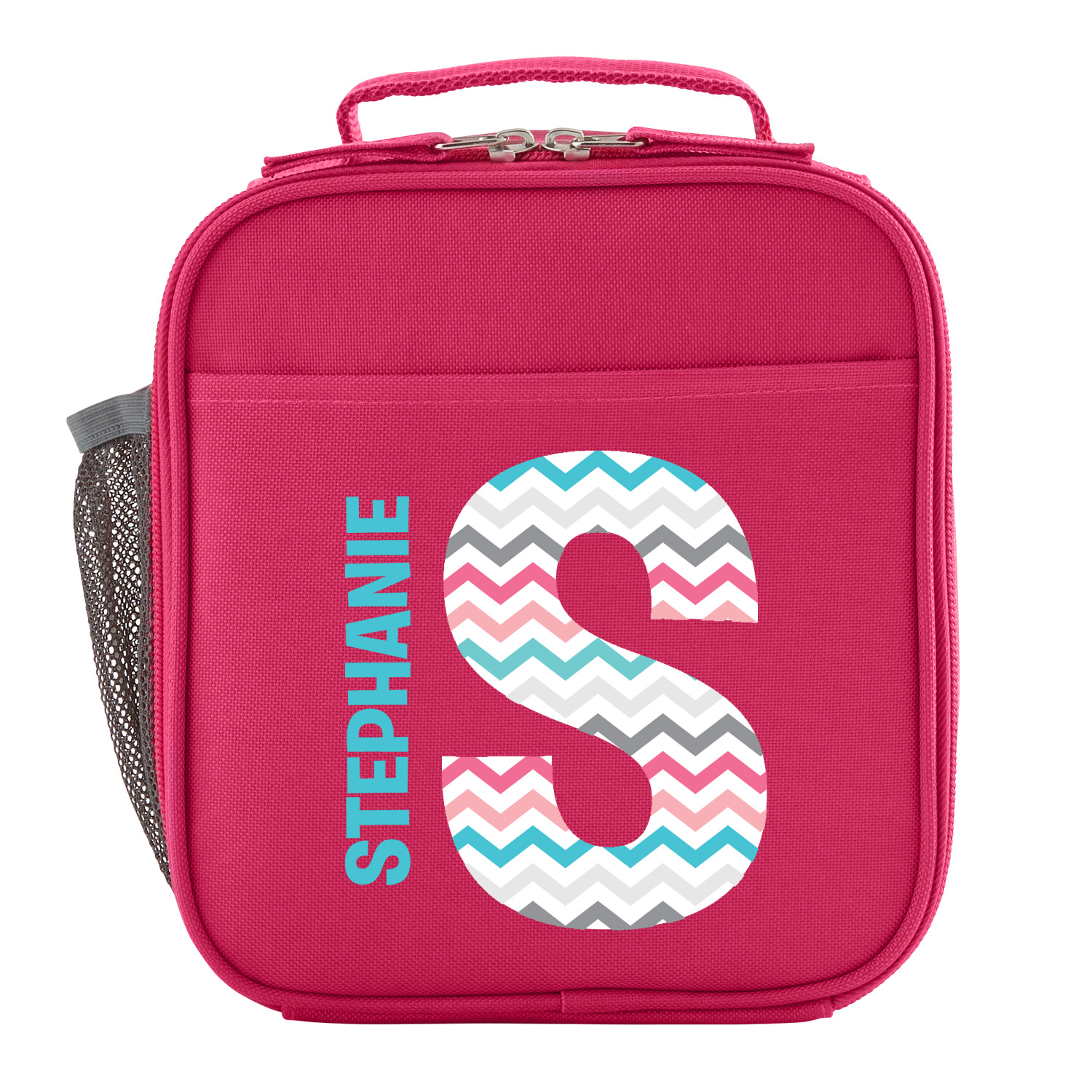 Personalized Pretty Pattern Backpack - Aqua