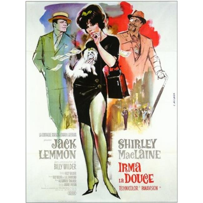 Posterazzi MOV242328 Irma La Douce Movie Poster - 11 x 17 in. - image 1 de 1