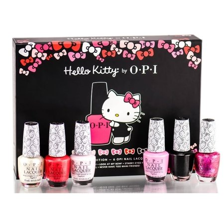 OPI Nail Lacquer, Hello Kitty Collection, 0.5 Fl Oz (Set of -