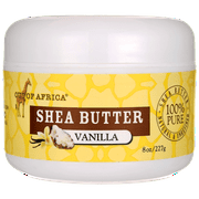 Out of Africa Shea Butter - Vanilla 8 oz Solid Oil
