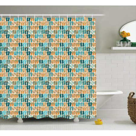 e57e425b96ca1 Flip Flop Shower Curtain