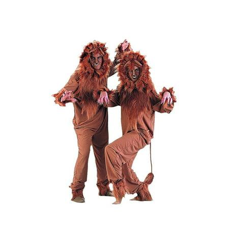 Halloween Lion Adult Costume