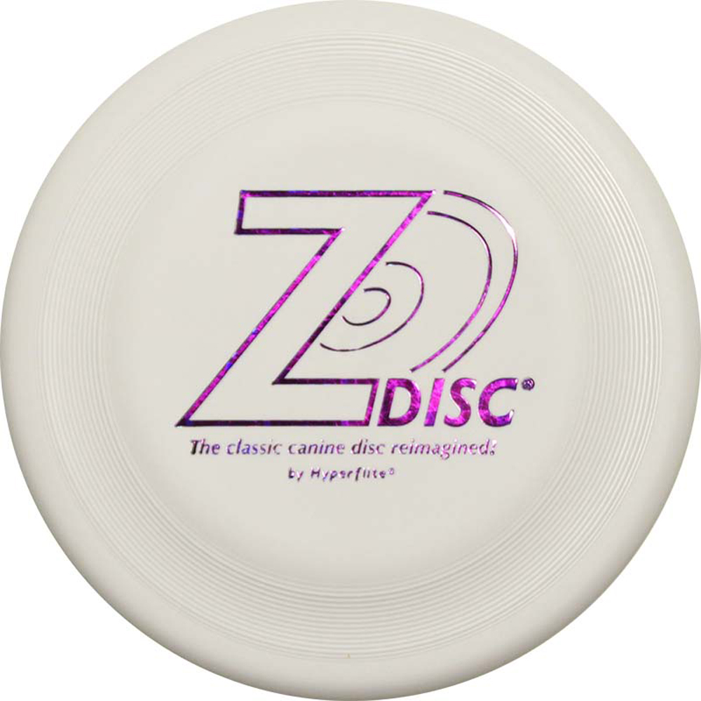 Hyperflite Z-Disc Competition Approved Dog Disc (White)