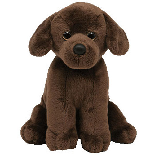 TY Beanie Baby - COCOA the Chocolate Lab Dog (5.5 inch)