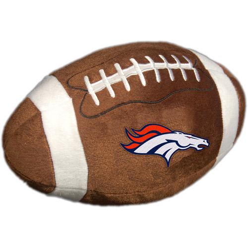 NFL Plush Football Pillow, Denver Broncos