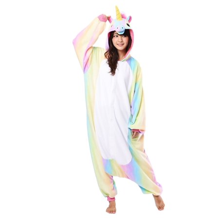Female Kigurumi (Rainbow Unicorn Kigurumi for)