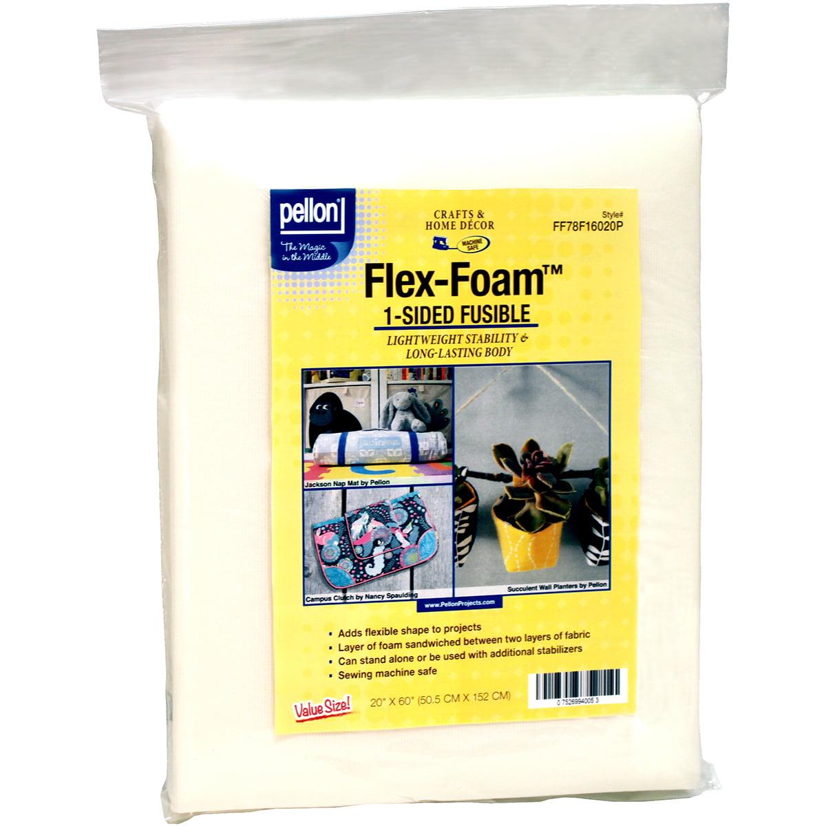 """Pellon Flex Foam 1-Sided Fusible 20"""" x 60"""""""