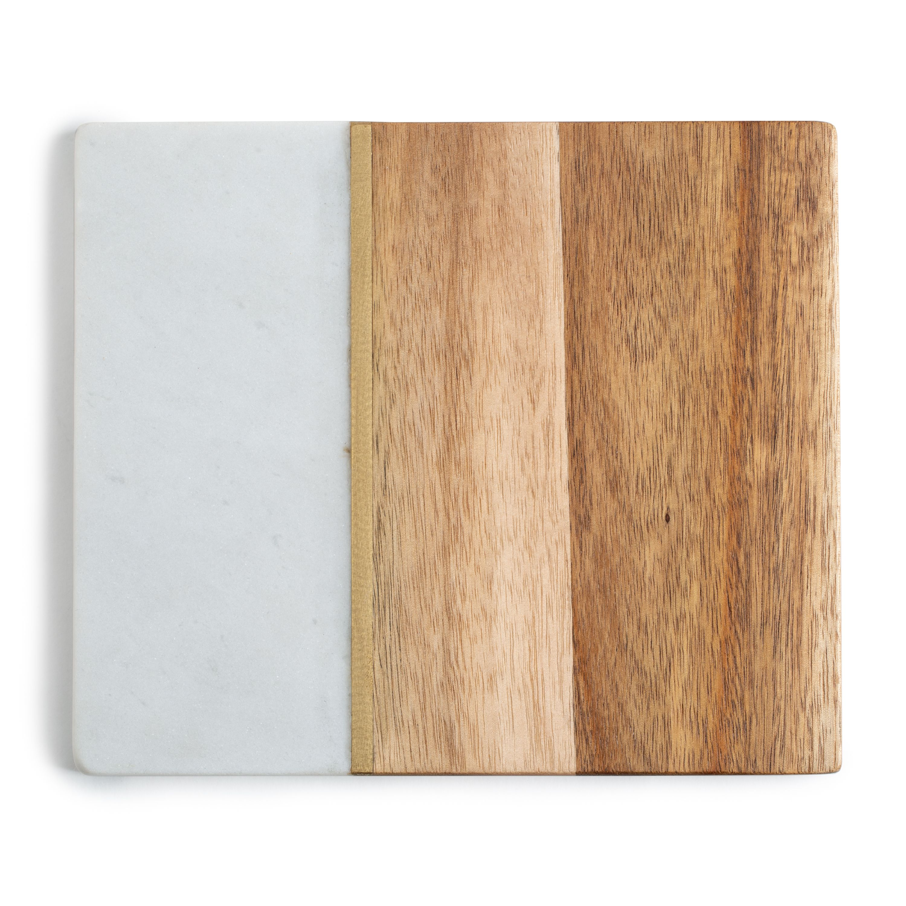 Better Homes & Gardens Trivet, Acacia Wood and Marble