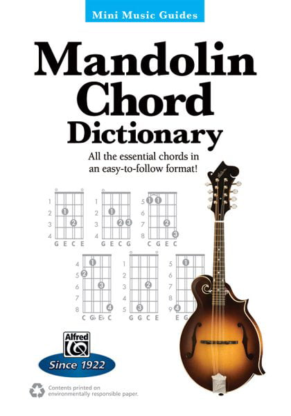 Mandolin Chord Dictionary by