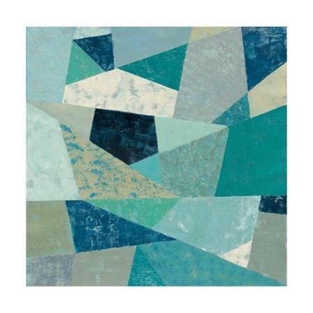 Indigo Geo Metric II Print Wall Art By Silvia Vassileva