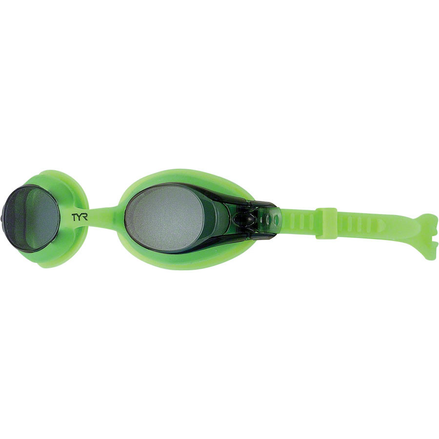 TYR Youth Swimple Goggle Smalloke Green by TYR