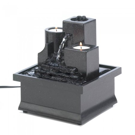 TEMPLE STEPS TABLETOP FOUNTAIN Tabletop Fountain Natural Grey Slate