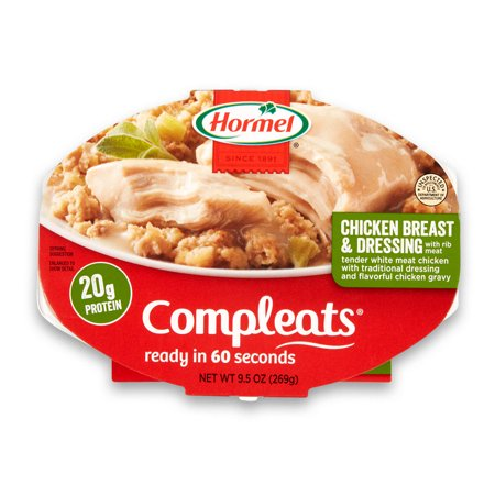 (6 pack) Hormel Compleats Chicken Breast & Dressing, 9.5 (Calories In 6 Ounces Of Chicken Breast)