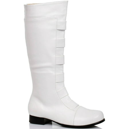 White Boots Men's Halloween Costume Accessory](Costume White Boots)