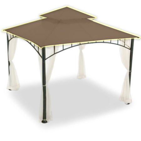 Garden Winds Replacement Canopy Top for Target Madaga Gazebo, SUNBRELLA