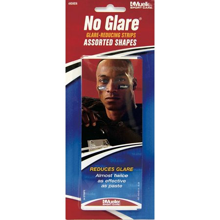 No Glare Strips - No Glare¨ Glare-Reducing Strips Assorted Shapes - Retail pk of 54 asst. shaped strips - Each, Same great performance as the original No Glare Glare-Reducing Strips By Mueller