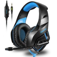 ONIKUMA K1-B Stereo Gaming Headset, Noise Canceling Microphone for PC, PS4, XBOX ONE, IPAD And Laptop Computer