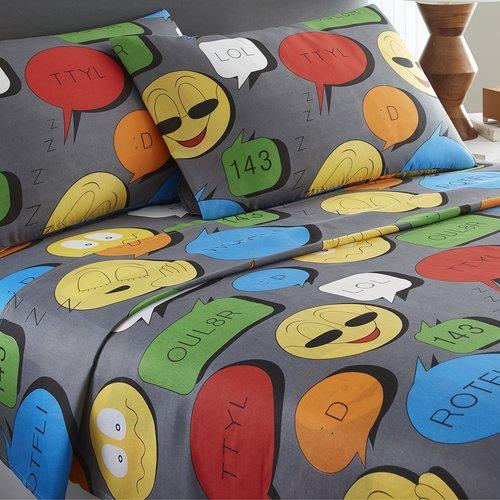 Zoomie Kids Colstrip Emoji Sheet Set