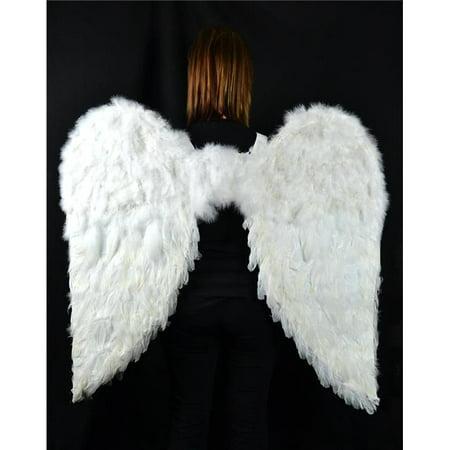 Midwest Design Imports 11009 Ailes d'ange plume blanche - image 1 de 1