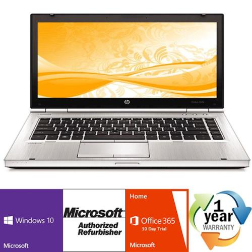 Off Lease REFURBISHED HP EliteBook 8470p 2.6GHz i5 4GB 320GB DVD Windows 10 Pro 64 Laptop Computer