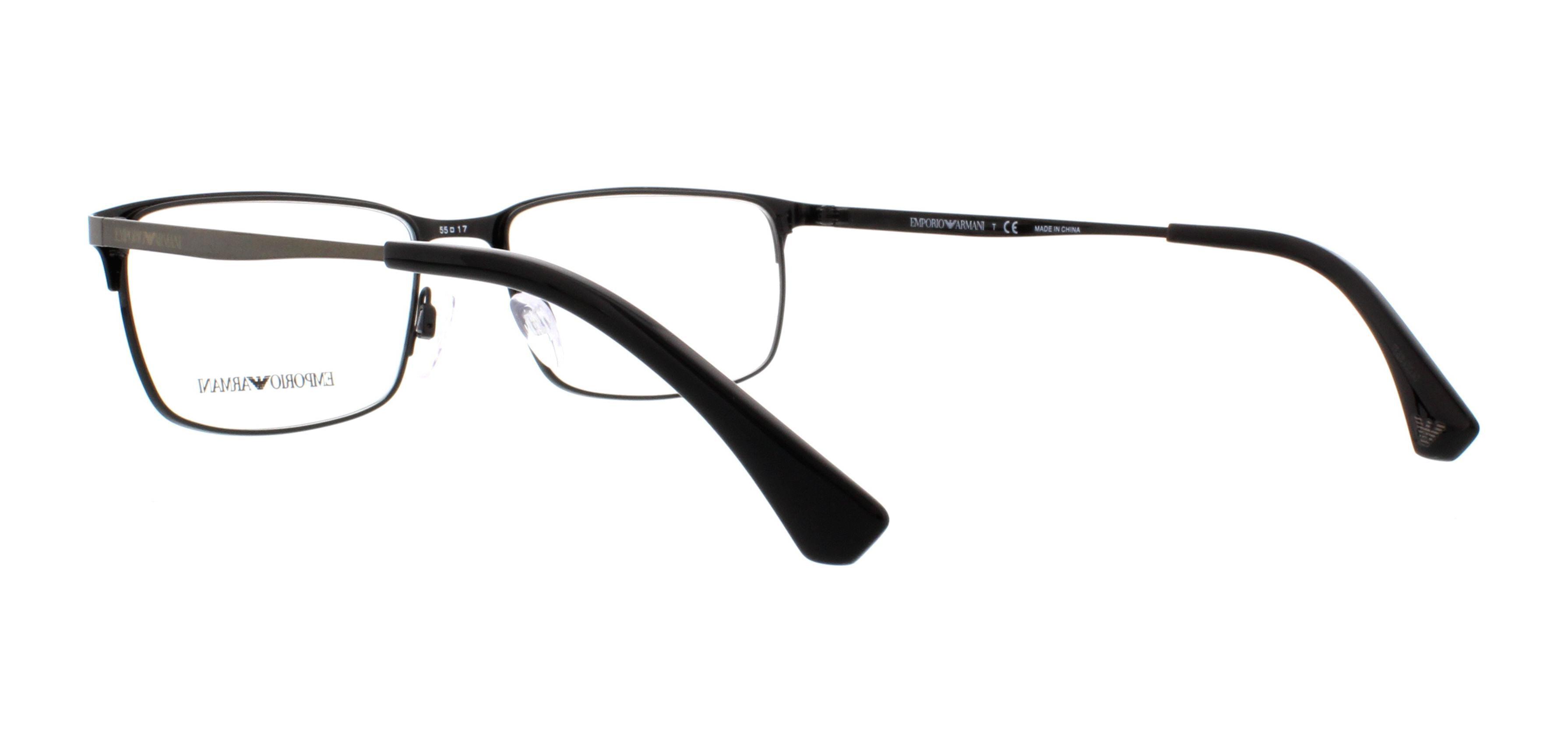 faf9d8034f8 EMPORIO ARMANI Eyeglasses EA 1042 3126 Matte Gunmetal Black Black 55MM -  Walmart.com