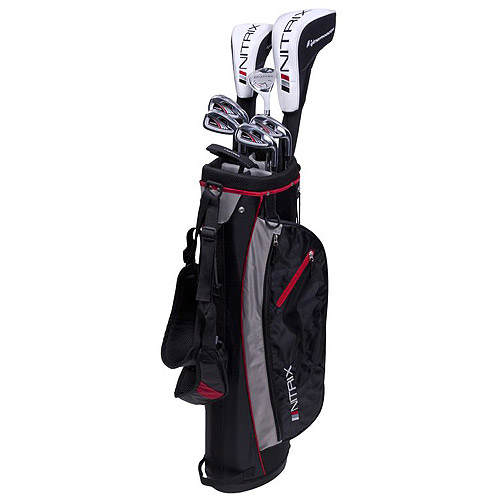 Pinemeadow Golf Nitrix Pro Men's Complete 12-Piece Golf Club Set, Right-Handed