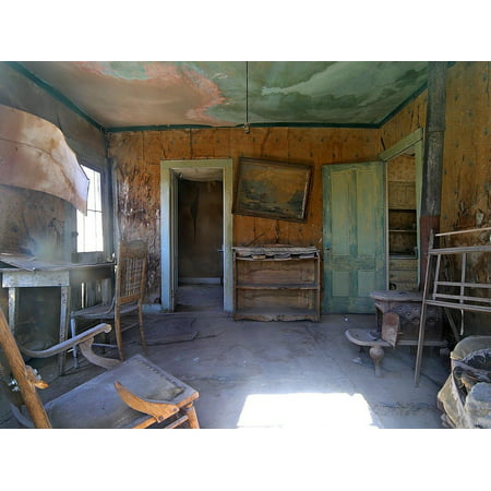 LAMINATED POSTER Ghost Town Usa Leave Bodie Wild West Old Poster Print 24 x (West Town Center)
