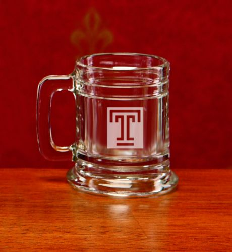 Temple Owls Deep Etched Colonial Shot Mug