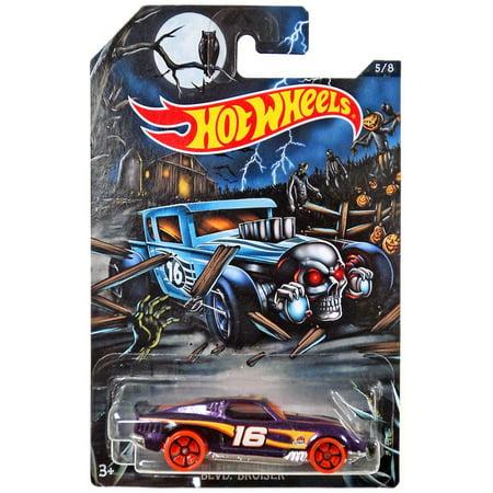 Hot Wheels Happy Halloween! Blvd. Bruiser Die-Cast Car (Hot Wheels Halloween)