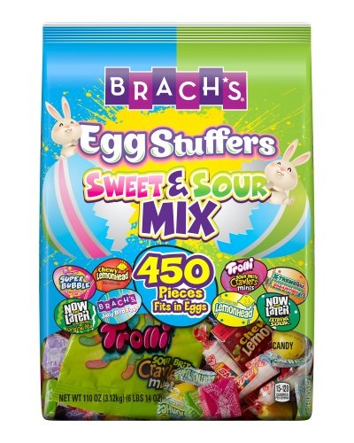 Brach's Easter Egg Stuffers Sweet and Sour Mix Candy, 450 count