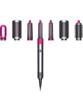 ($549 Value) Dyson- Airwrap™ Complete Styler- Fuchsia,Nickel