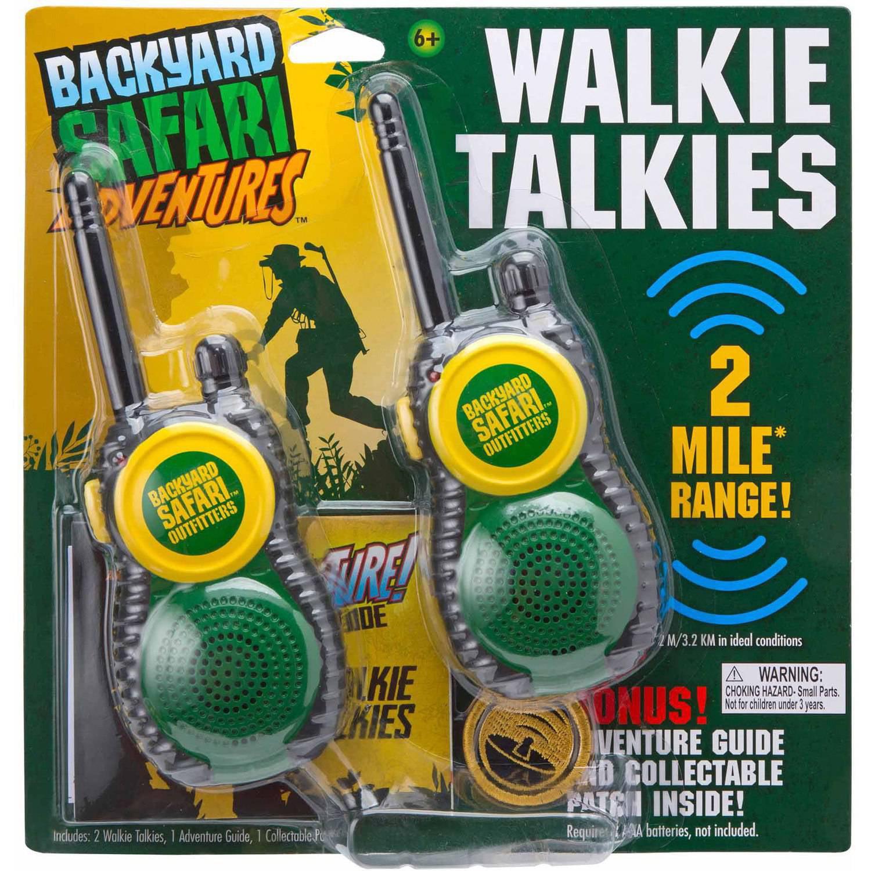backyard safari walkie talkies walmart com