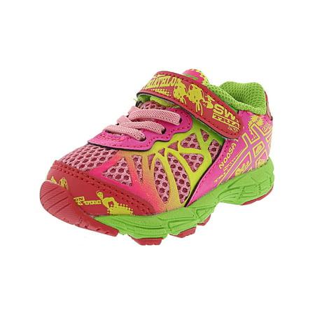 Asics Noosa Tri 9 Ts Petal Pink/Hot Pink/Apple Green Ankle-High Walking Shoe -