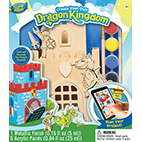 Masterpieces Works of Ahhh Dragon Kingdom Large Wood Paint Kit
