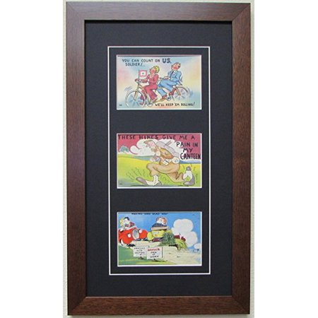 Post Card Frame for Three (3) 3.5