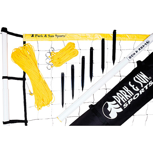 Park & Sun Player III Volleyball Set/Yellow