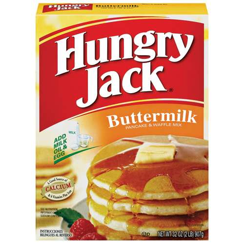 Hungry Jack: Buttermilk Pancake & Waffle Mix, 32 Oz