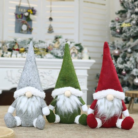Faceless Old Man Doll Christmas Decorations Window Decoration Christmas Decoration ()