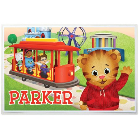 - Personalized Daniel Tiger Placemat