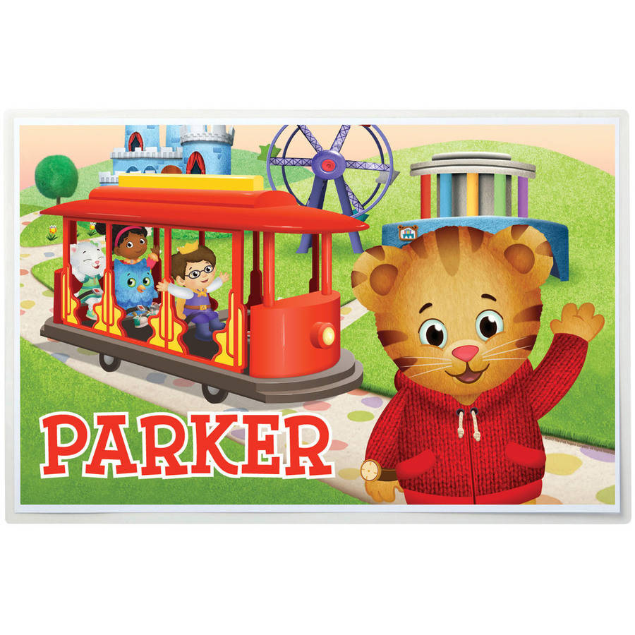 Personalized Daniel Tiger Placemat