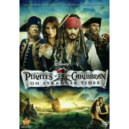 Pirates of the Caribbean: On Stranger Tides (DVD) (Pirates Of The Caribbean Fountain Of Youth)
