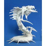 Reaper Miniatures Frost Wyrm #77183 Bones Unpainted Plastic D&D RPG Mini Figure