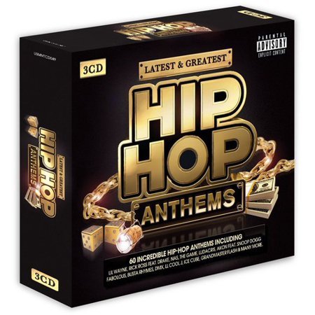Latest   Greatest Hip Hop Anthems   Various
